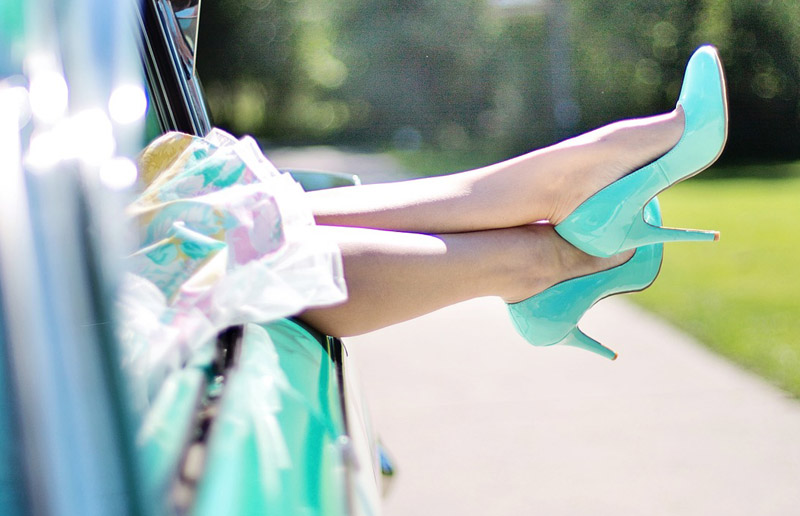 zapatos con efecto
